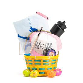 Hockey Girl Easter Basket