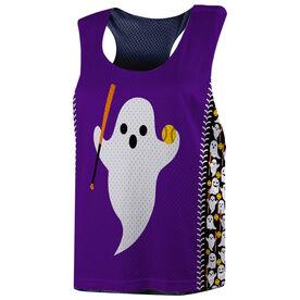 Softball Racerback Pinnie - Ghost