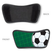 Soccer Repwell® Slide Sandals - Ball Reflected