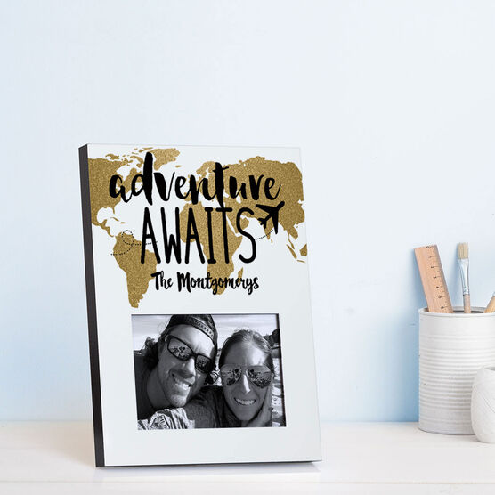 Personalized Photo Frame - Adventure Awaits