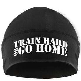Beanie Performance Hat - Train Hard Or Go Home
