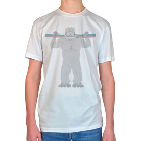 Skiing Vintage T-Shirt - Are You Yeti To Ski