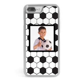 Soccer iPhone® Case - Ball Texture Your Photo