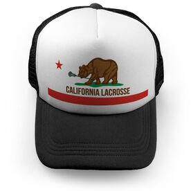Guys Lacrosse Trucker Hat - California Lacrosse