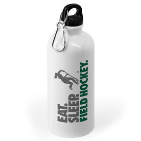 Field Hockey 20 oz. Stainless Steel Water Bottle - Eat. Sleep. Field Hockey.
