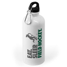 Field Hockey 20 oz. Stainless Steel Water Bottle - Eat. Sleep. Field Hockey.