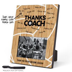 Volleyball Photo Frame - Coach (Autograph)