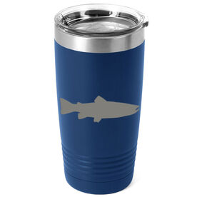 Fly Fishing 20 oz. Double Insulated Tumbler - Trout