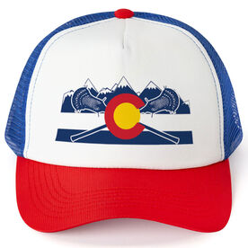 Guys Lacrosse Trucker Hat Colorado Lacrosse