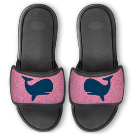 Personalized Repwell® Slide Sandals - Whales