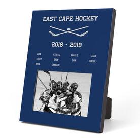 Hockey Photo Frame - Team Roster