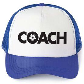 Soccer Trucker Hat - Coach