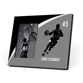 Basketball Photo Frame - Personalized Basketball Guy Player