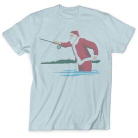 Vintage Fly Fishing T-Shirt - Santa