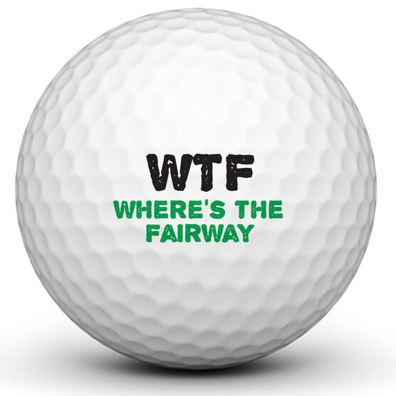 WTF Fairway Golf Ball