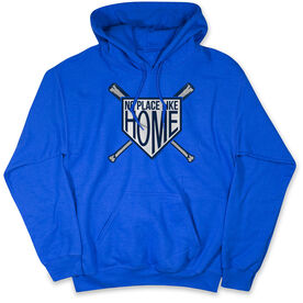 Baseball Hooded Sweatshirt - No Place Like Home