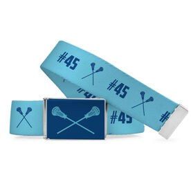 Lacrosse Lifestyle Belt Number Pattern
