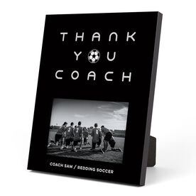 Soccer Photo Frame - Thank You Coach