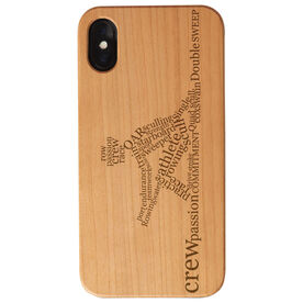 Crew Engraved Wood IPhone® Case - Words