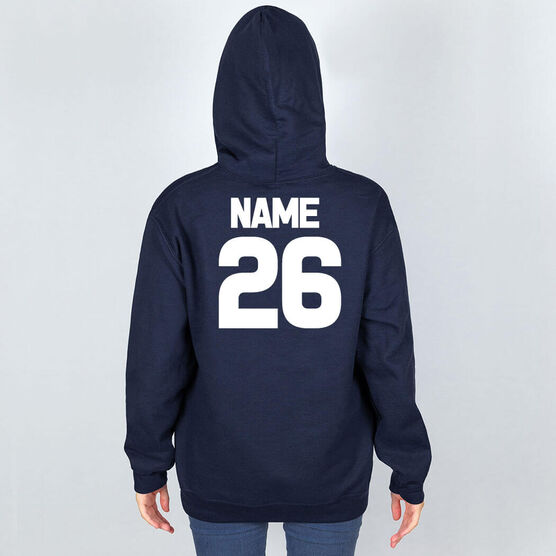 Field Hockey Hooded Sweatshirt - Fetch the Field Hockey Dog
