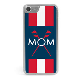 Crew iPhone® Case - Mom With Crossed Oars