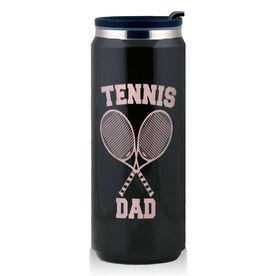 Stainless Steel Travel Mug Tennis Dad