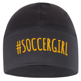 Beanie Performance Hat - #SoccerGirl