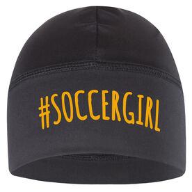 Beanie Performance Hat - #SoccerGirl