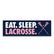 Girls Lacrosse Swag Bagz - Eat. Sleep. Lacrosse