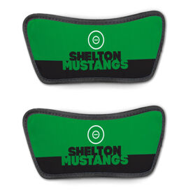 Wrestling Repwell® Sandal Straps - Team Name Colorblock