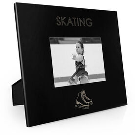Figure Skating Engraved Picture Frame - Simple Skating