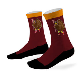 Lacrosse Printed Mid Calf Socks Lacrosse Turkey