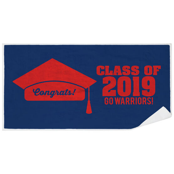 Personalized Premium Beach Towel - My Graduation