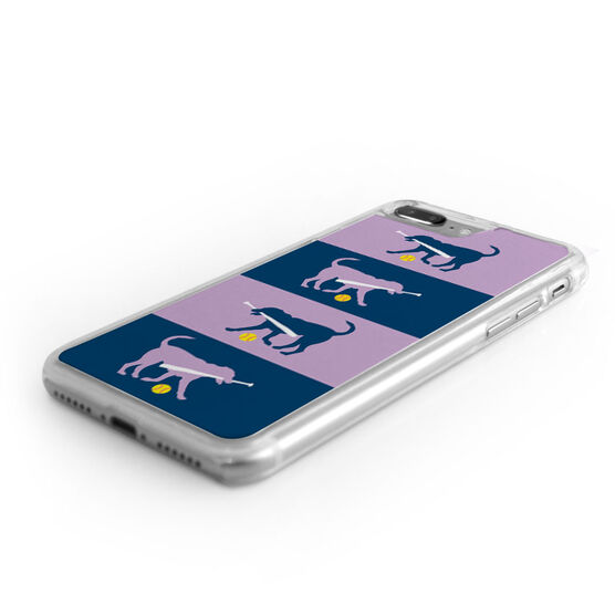 Softball iPhone® Case - Dog Fan