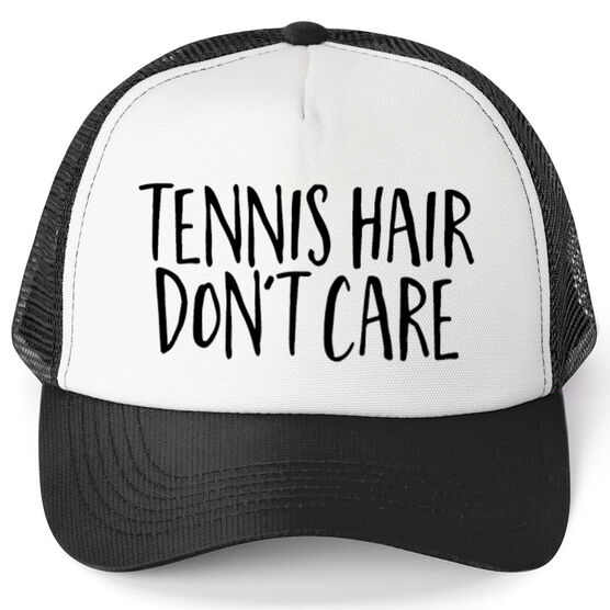 Tennis Trucker Hat - Tennis Hair Don't Care
