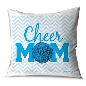 Cheerleading Throw Pillow Cheer Mom