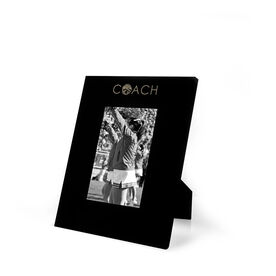 Cheerleading Engraved Picture Frame - Coach