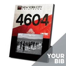 Triathlon Photo Frame - Your Tri Bib