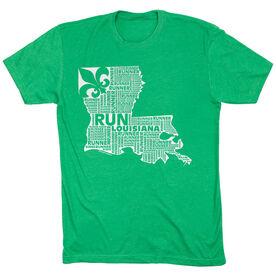 Running Short Sleeve T-Shirt - Louisiana State Runner