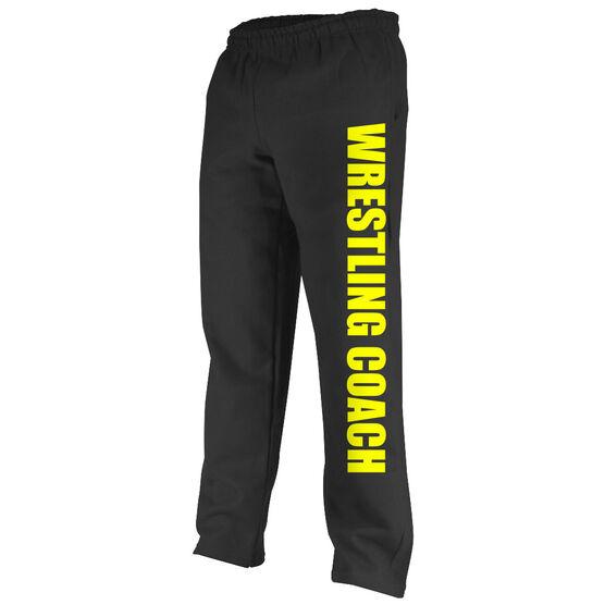 Wrestling Fleece Sweatpants Wrestling Coach