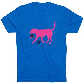 Soccer Tshirt Short Sleeve Sasha the Soccer Dog