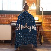 Field Hockey Premium Blanket - Mom Stripe