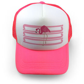 Field Hockey Trucker Hat - Flamingo