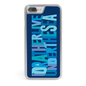 Swimming iPhone® Case - I'd Rather Live Under The Sea