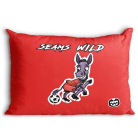 Seams Wild Soccer Pillowcase - Mulekick