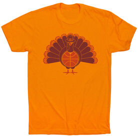 Basketball Short Sleeve T-Shirt - Turkey Player