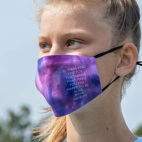 Running Face Mask - Always Find The Time