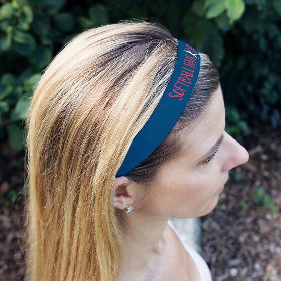 Softball Julibands No-Slip Headbands - Softball Hair Don't Care