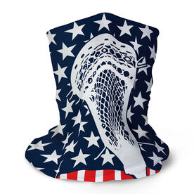 Guys Lacrosse Multifunctional Headwear - Stars and Stripes RokBAND