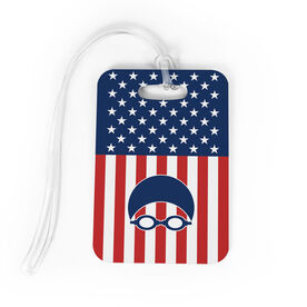 Swimming Bag/Luggage Tag - USA Swim